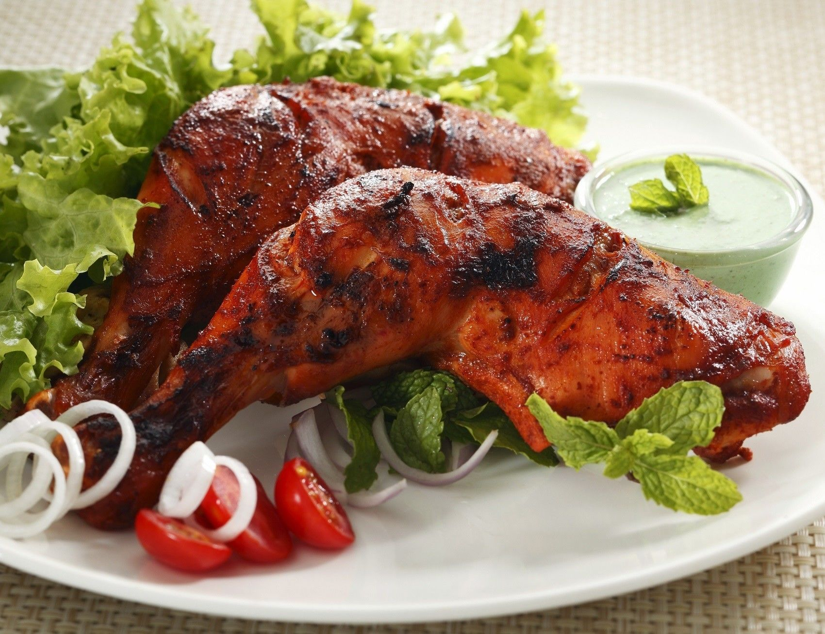 Eat Tandoori Chicken when you travel to India