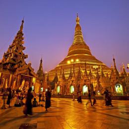 Highlight Ihrer Myanmar Rundreise - die prächtige Shwegadon Pagode