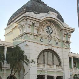 Bahnhof von Gustav Eiffel in Maputo