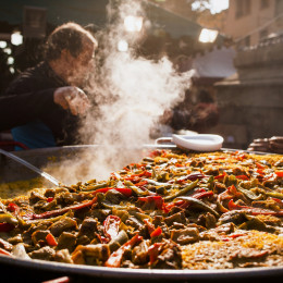 Things to do in Spain - cooking in Valencia