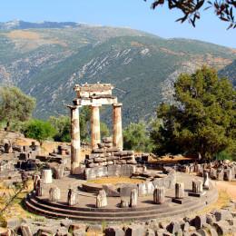 Griechenland Sehenswürdigkeiten: Delphi Tempel