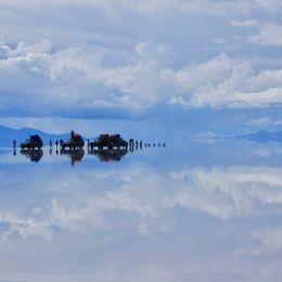 Uyuni Salt Flat (Salar de Uyuni), Uyuni, Bolivia, South America