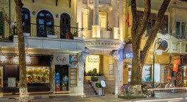 Außenansicht im Silk Path Hotel in Hanoi, Vietnam