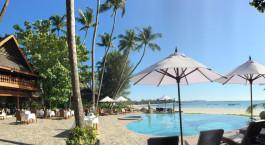 Enchanting Travels - Myanmar Tours - Ngapali Beach - Amazing Resort - Outdoor Pool
