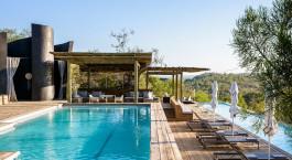 Pool at Singita Lebombo Lodge, Kruger in South Africa