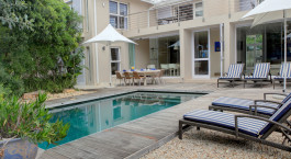 Pool im Starfish Plettenberg Bay Guest Lodge, Garden Route in Südafrika