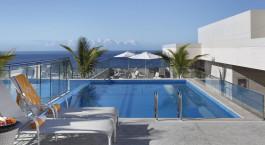 Pool at Hilton Rio de Janeiro Copacabana in Rio de Janeiro, Brazil