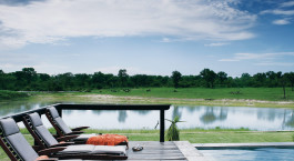 Terrace at Arathusa Safari Lodge in Kruger, South Africa