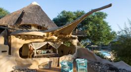 Room view at Chongwe River Camp in Lower Zambezi, Zambia