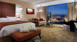 Enchanting Travels - Asia Tours - Singapore - Marina Bay Sand - bedroom view