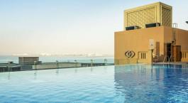 Pool at Sofitel Dubai Jumeirah Beach in Dubai