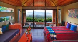 Double room at Xandari Resort & Spa in San José, Costa Rica