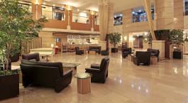 Lobby im Hotel New Nagasaki, Japan
