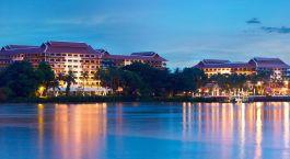 Enchanting Travels - Bangkok Tours - Anantara Bangkok Riverside Resort - exterior view