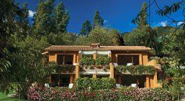 Hotel view on Belmond Rio Sagrado Hotel , South America in Peru