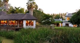 Exterior view of Woodall Country House, Eastern Cape Game Parks in South Africa