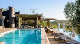 Pool der Singita Lebombo Lodge, Krüger in Südafrika