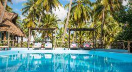 Pool der Butiama Beach Lodge in Mafia Island, Tansania