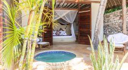 Honeymoon Suite im Sunshine Hotel in Sansibar, Tansania