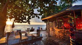 Enchanting Travels - Thailand Tours - Koh Lanka - Lanta Sand Resort and Spa - outdoor Restaurant