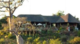 Exterior view at hotel Ngoma Safari Lodge in Chobe National Park, Botswana