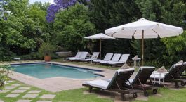 Pool im River Manor Boutique & Spa Hotel in Winelands, Südafrika