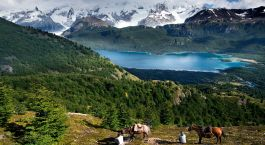 Enchanting Travels South America Tours Argentina El Calafate Estancia Nibepo Aike activity - Argentina Attractions