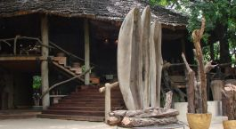 Lake Manyara Tree Lodge from outside, Lake Manyara & Ngorongoro, Tanzania