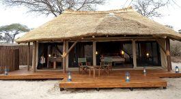 Zimmeraussicht im Oliver's Camp Hotel in Tanzania, Tarangire