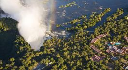 Enchanting Travels - Sambia Reisen -  Anantara Avani Victoria Falls Resort - Blick von oben