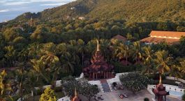 Enchanting Travels - Asia Tours - Myanmar - Mandalay Hill Resort - exterior