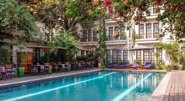 Enchanting Travels - Asia Tours - Myanmar - Savoy Hotel - swimming pool