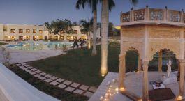 Enchanting Travels - North India Tours - Khajuraho - The Lalit Temple View - swimming Pool