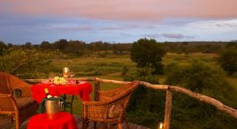 Sundowners at Mala Mala Main Camp in Kruger National Park, South Africa