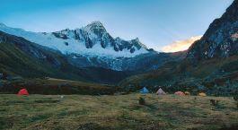 Camp in der Cordillera Blanca