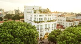 Exterior view at the Apricot Hotel, Hanoi, Vietnam
