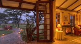 Lounge view at Topi House in Masai Mara, Kenya