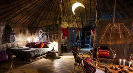 Enchanting Travels -Tanzania Tours - Amini Maasai Lodge -Schlafzimmer