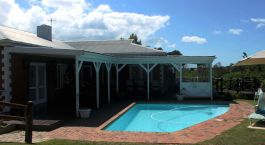 Enchanting Travels - South Africa Tours - Garden Route - Redbourne Country Lodge - Pool area