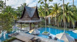 Pool im Hotel Twinpalms in Phuket, Thailand