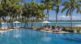 Pool im Shangri-La's Le Touessrok Resort & Spa Hotel in Mauritius, Afrika