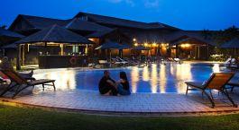 Batang Ai Longhouse Resort Poolside Malaysia Tour