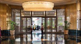 Entrance at Mandarin Oriental in Kuala Lumpur, Malaysia