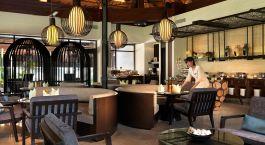 Dining room at Meritus Pelangi Beach Resort & Spa Hotel in Langkawi, Malaysia