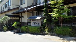 Exterior view of Gora Sounkaku in Hakone, Japan