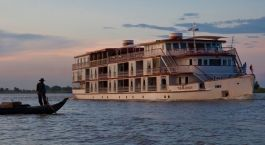 Exterior view of The Jahan Cruise, My Tho/Mekong Delta, Vietnam