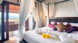 Deluxe Zimmer im Sriwilai Sukhotai Resort & Spa in Sukhothai, Thailand
