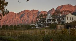 Exterior view of Leeu Estates Hotel, Winelands in South Africa