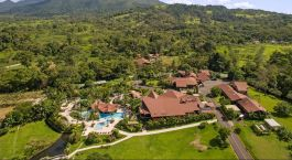 Bird's eye of Arenal Springs Hotel in Arenal, Costa Rica