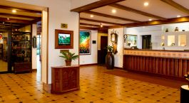 Costa-Rica Tours San Jose Hotels Hotel Bougainvillea Reception